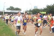 2008年のユリカモメマラソンin武庫川