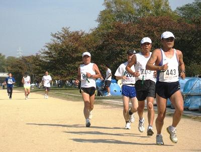 2009-11月ロード記録会風景