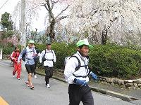 甲山を走る3