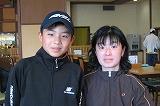 坂本さんと息子の健吾君