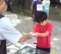 小学生1Kmランニング表彰式