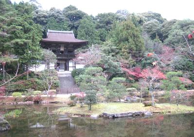 紅葉の円成寺