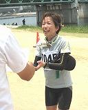 女子10Km優勝;藤恵子さん